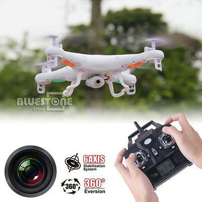 AUStock X5C-1 Quadcopter 2.4Ghz 6-Axis Gyro RC Drone 2MP HD Camera UAV LiBattery