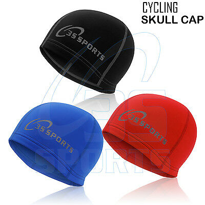 Cycling Skull Cap Winter Under Helmet Thermal Windstopper Cycle One Size - Black