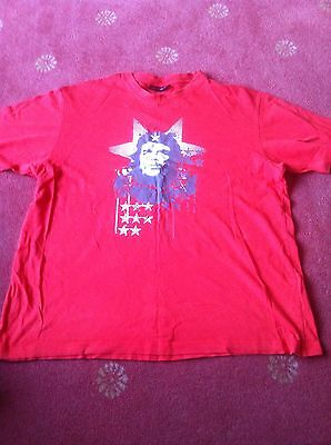 Men's T-Shirt By Cedarwood State Size L In Red