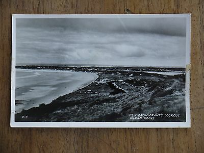 "Vintage Real Photo Postcard ""Grant's Lookout, Ocean Grove"""