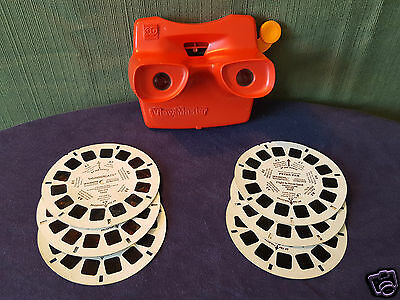 ViewMaster 3d with Peter Pan & Thundercats Reels