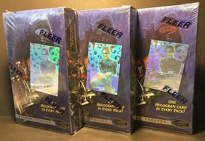 1995 Fleer - BATMAN FOREVER Ultra Movie Cards 3x FULL Box 36 Sealed Packs