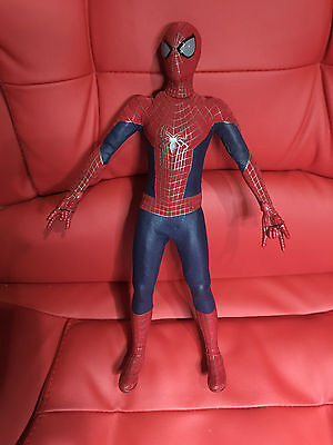 Hot Toys 1/6 Marvel The Amazing Spider-Man 2 Mms244 Peter Parker Action Figure
