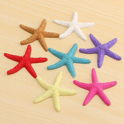 Colorful Artificial Pentadactyl Resin Starfish Home Beach Wedding Decoration