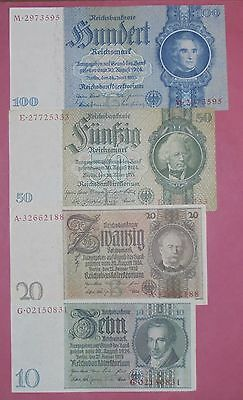 Lotto Banconote Germania Reich, Lot Germany Banknotes