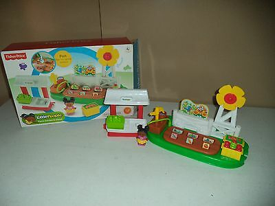 Fisherprice Little People Farm Garden And Stand Play Set - Complete