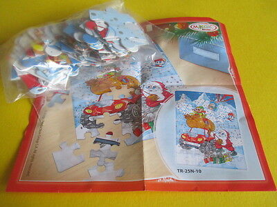 Kinder Ferrero TR-25N-10 - Christmas Puzzle - 2012