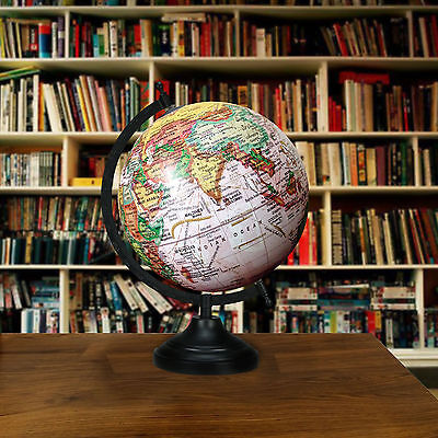 13 Big Decorative Ocean World Globe Rotating Geography Earth Home Table Decor""
