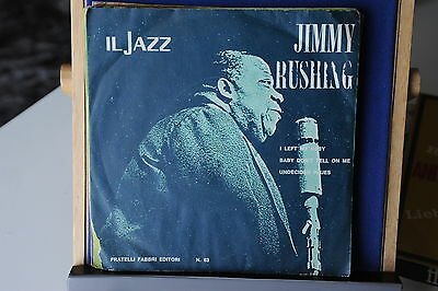 Il Jazz - Jimmy Rushing - Disco 45 Giri - 7''