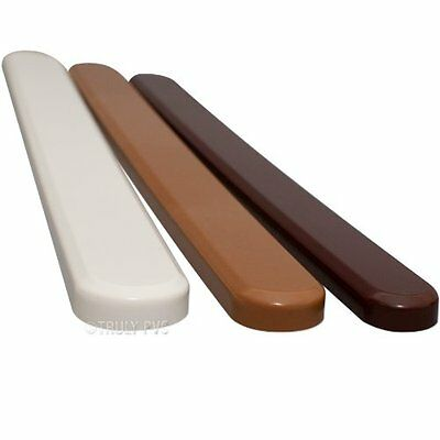 1 White 23mm End Cap for Internal Window Boards - Various colours available
