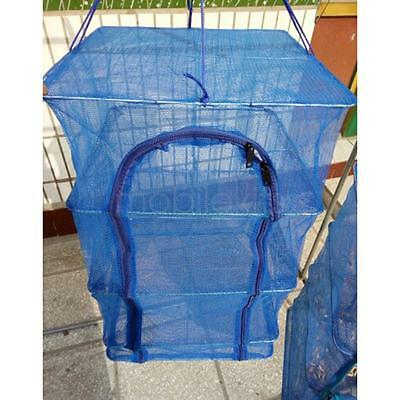 Hanging Drying Shelf Rack Curing Dishes/Herb/Fish Mesh Dryer Folding Net