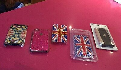 Five iPhone Cases Two For iPhone 3 & 3 For iPhone 4