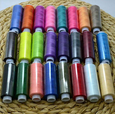 Mixed Colors Hand Sewing Thread 2016 Polyester Hot Machine 24/Lot Quilting Spool