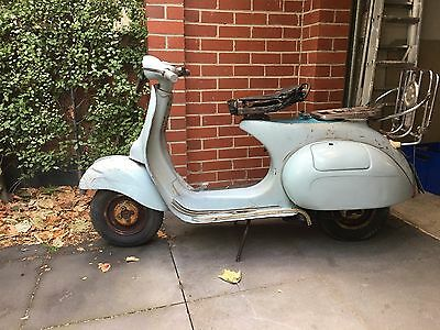 Vespa 1952 &1960 PROJECTS