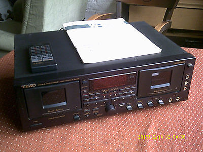 teac w6000r cassette deck untested
