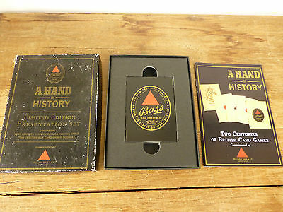 Bass - A Hand in History - Card Games Limited Edition Set