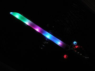 25 x led flashing swords light sticks light novalties wholesale