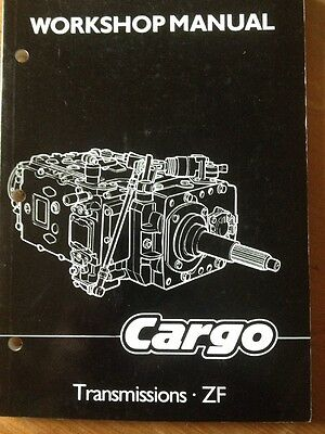 FORD CARGO TRANSMISSION ZF S5 REPAIR WORKSHOP SERVICE MANUAL TRUCK 6spd GEARBOX