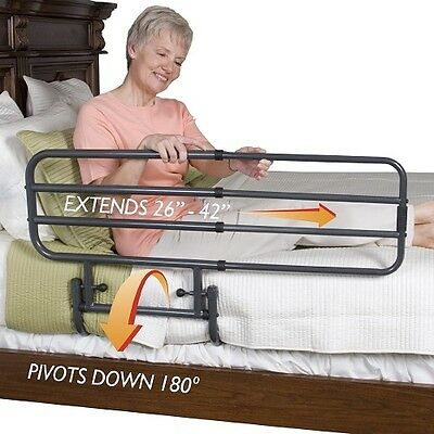 Bed Rails Safety Guard Bed Secure Rail  Adjustable Protector full security Ederl