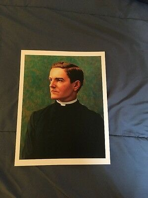 Knights Of Columbus Founder Father Michael McGivney Portrait Unframed