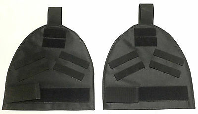 New Airsoft Molle Shoulder Protector Pad Sets For Armor Carrier Vest Black