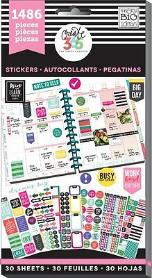 Me & My Big Ideas Create 365 Happy Planner Everyday Plans Value Pack Stickers