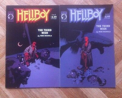 Hellboy The Third Wish 1  And 2 Complete Set Mignola Near Mint (W4)