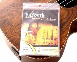 Worth CM-LG Clear Low G Ukulele Strings