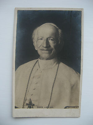 Pope Leo X111. Posted Card From The Year 1903