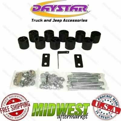 """Daystar 3"""" x 3"""" Front & Rear Body Lift Kit Fits 1992-1996 Ford Bronco 4WD"""