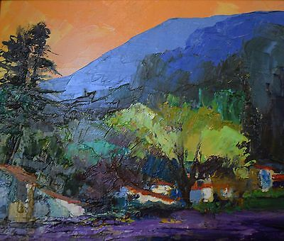 Mark Randall Original oil on board painting, signed