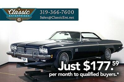 1973 Oldsmobile Delta 88 3 owner air conditioning low miles solid and fun Convertible 455 Leather wrapped wheel Cd  with Aux input non smoker we ship