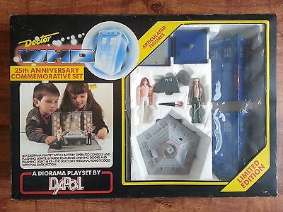 Doctor Who Classic Tardis Console Room Dapol Playset 25Th Anniversary Toy Figure
