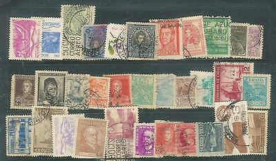 Nice lot of 45 mostly Vintage stamps from Latin America condition as seen, A52
