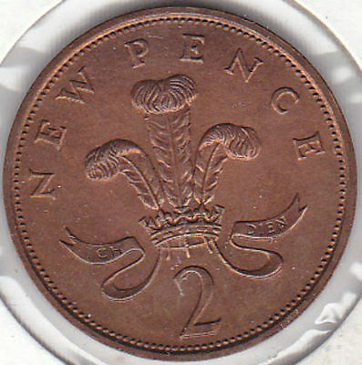1981-Great Britain 2 New Pence-AU-KM#916