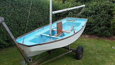West Eleven GRP (Mirror Dinghy) with trailer  GREAT XMAS GIFT!!