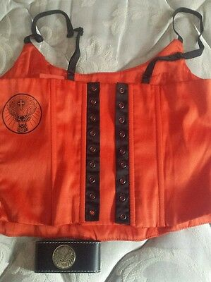 Jagermeister corset with bracelet