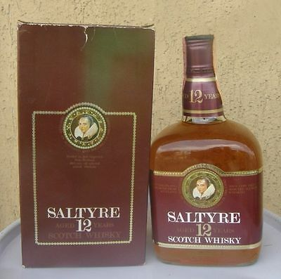 Saltyre Scotch Whisky 12 Years Old 75 Cl + Box