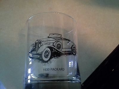 Sunoco Collectable Vintage Rare OOP Drinking Libbey Glassware 1930 Packard
