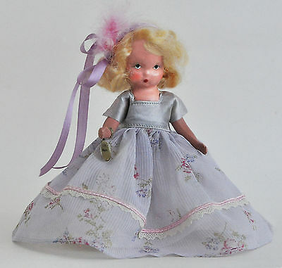 Sweet 1940s Nancy Ann Storybook Doll Beauty #156 with Wrist Tag