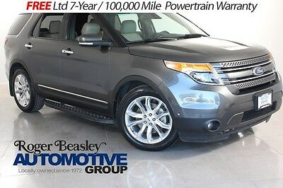 2015 Ford Explorer  15 FORD EXPLORER SUV LEATHER SONY XM HTD-SEATS 3RD ROW XM 46K