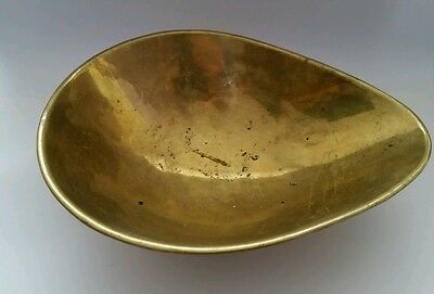 Brass tray for scales.