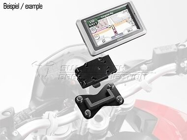 SW Motech BMW R1200GS 2004-2007 Quick Lock GPS/Sat Nav Mount