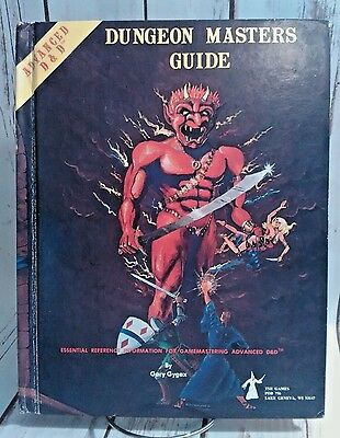 Advanced Dungeons & Dragons - Dungeon Masters Guide AD&D TSR Free Shipping