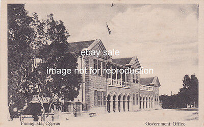 Cyprus Postcard Famagusta Government Offices By Ioannou Early