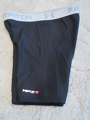 Under Armour Mpz Fast Pitch Compression Fit Padded Sliding Shorts Women's Small