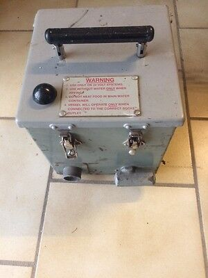 British Army UK Land ROver Boiling Vessel Cooking Vessel