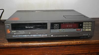 Sony Video Cassette Recorder Betamax Sl-C33Ec Pal