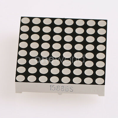 Common Anode New 8*8 Dot Matrix Module Red LED 1588 1588BS 3.75mm