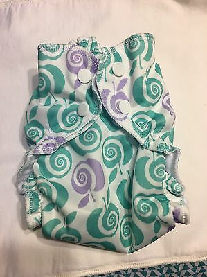"Applecheeks size 1 ""To the Core"" Cloth Diaper"